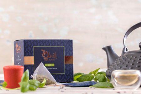 loose leaf basil tea